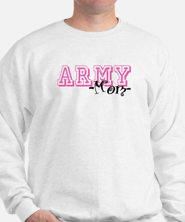 Army Mom - Jersey Style Sweatshirt