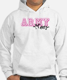 Army Mom - Jersey Style Hoodie