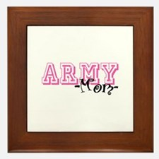 Army Mom - Jersey Style Framed Tile