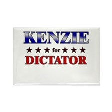 KENZIE for dictator Rectangle Magnet