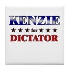 KENZIE for dictator Tile Coaster