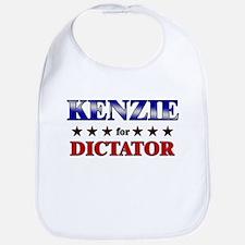 KENZIE for dictator Bib