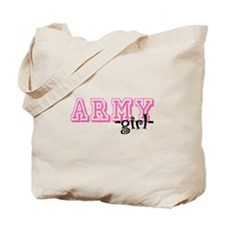 Army Grl - Jersey Style Tote Bag