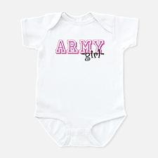 Army Grl - Jersey Style Infant Bodysuit