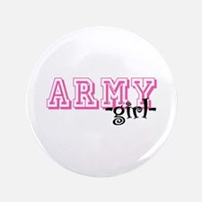 """Army Grl - Jersey Style 3.5"""" Button"""