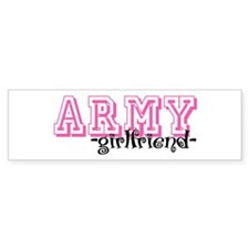 Army GF - Jersey Style Bumper Bumper Sticker