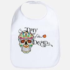 Day Of The Dead Bib