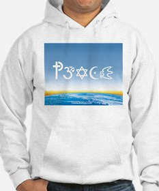 Peace-OM on earth Day Hoodie