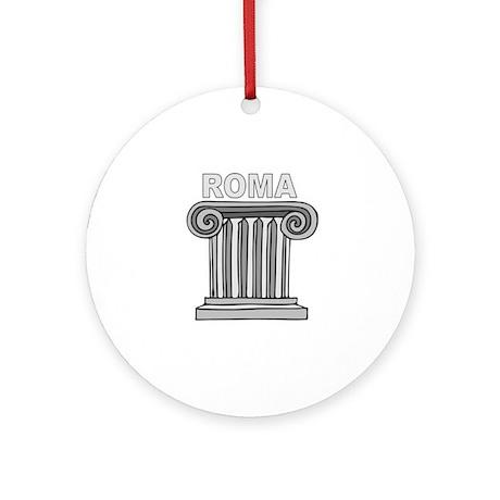 Roma, Italia Ornament (Round)