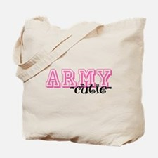 Army Cutie - Jersey Style Tote Bag