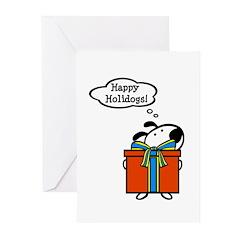 Dog Holiday Card Greeting Cards (Pk of 20)