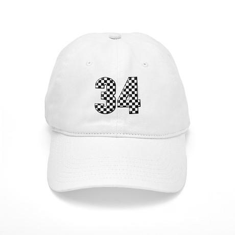 Auto Racing #34 Cap