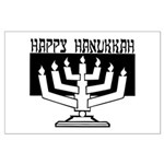 Happy Hanukkah Large Poster