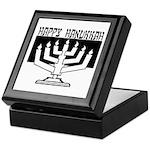 Happy Hanukkah Keepsake Box