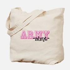 Army Aunt - Jersey Style Tote Bag