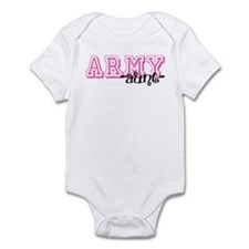Army Aunt - Jersey Style Infant Bodysuit