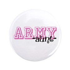 "Army Aunt - Jersey Style 3.5"" Button"