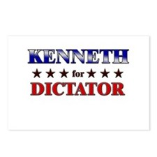 KENNETH for dictator Postcards (Package of 8)