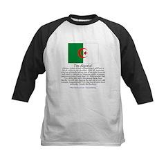 Algeria Kids Baseball Jersey