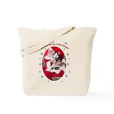 Saber:Santa's Helper Tote Bag