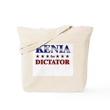 KENIA for dictator Tote Bag
