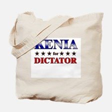 KENIA for dictator Tote Bag