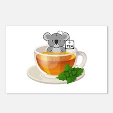 Koala-Tea (Quality) Postcards (Package of 8)