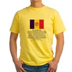 Andorra Yellow T-Shirt