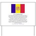 Andorra Yard Sign