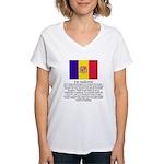 Andorra Women's V-Neck T-Shirt