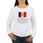 Andorra Women's Long Sleeve T-Shirt