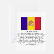 Andorra Greeting Card