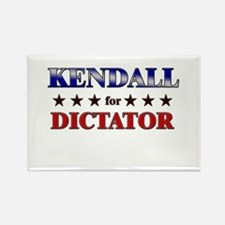 KENDALL for dictator Rectangle Magnet
