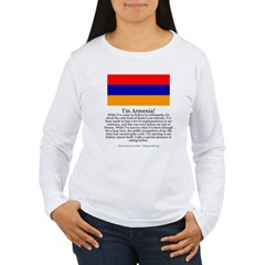 Armenia Women's Long Sleeve T-Shirt