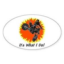 """""""It's What Do!"""" Oval Decal"""