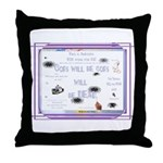 PSDB Political Statements Throw Pillow