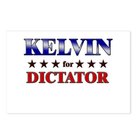 KELVIN for dictator Postcards (Package of 8)