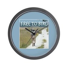 Free To Bird Wall Clock