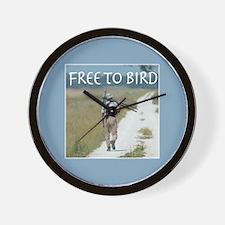 Free To Bird Wall Clock