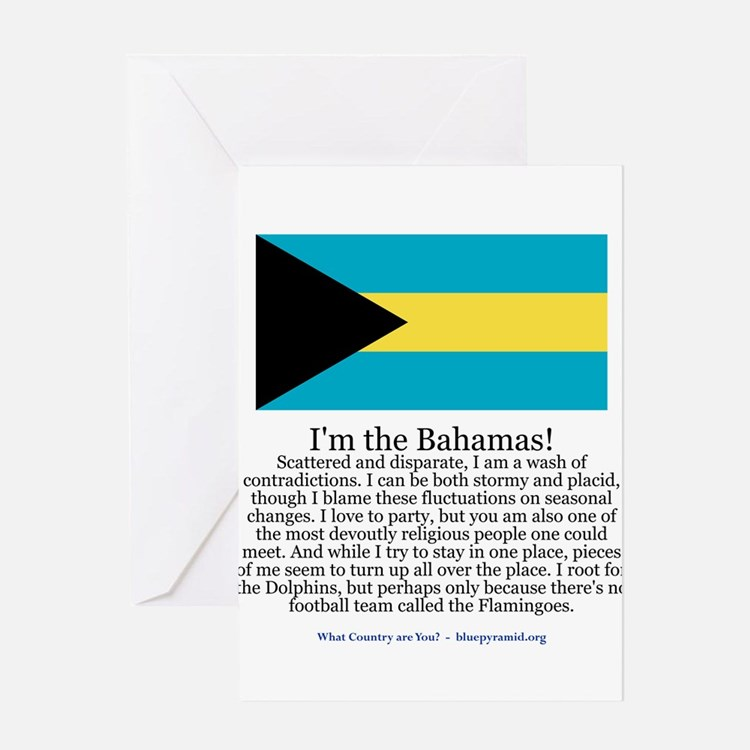 Bahamas Greeting Card