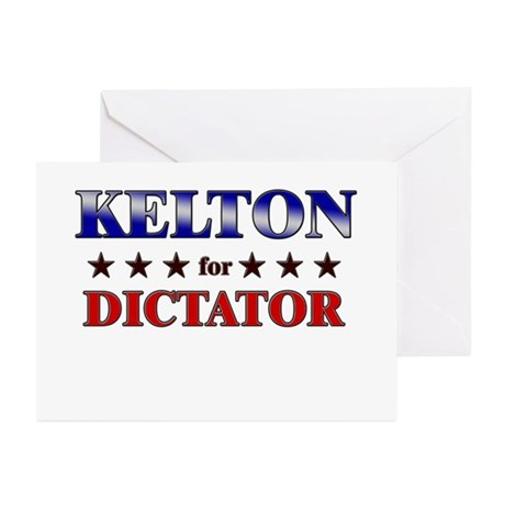 KELTON for dictator Greeting Cards (Pk of 10)