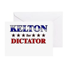 KELTON for dictator Greeting Card