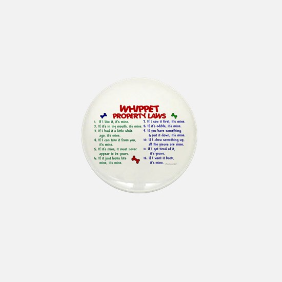 Whippet Property Laws 2 Mini Button