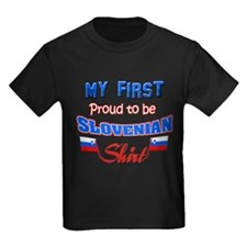 My first proud to be Slovenia T