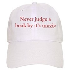 Never judge a book by it's movie Baseball Cap