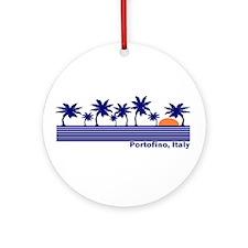 Portofino, Italy Ornament (Round)