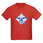 Peace, Love and Joy Kids Dark T-Shirt