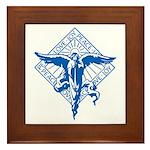 Peace, Love and Joy Framed Tile