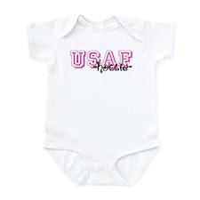 USAF Hottie - Jersey Style Infant Bodysuit