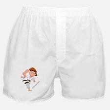 PERSONALIZED KARATE BOY Boxer Shorts